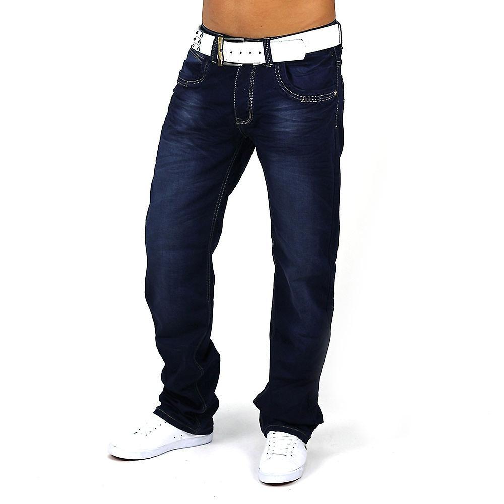 Men precious Jeans Vintage Denim Clubwear Club Diamant