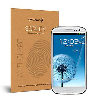Celicious mat anti-Glare Screen Protector Film Compatible avec Samsung Galaxy S3 Neo [Pack 2]