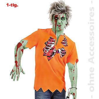 Zombie costume prigioniero di undead Jailbird Halloween mens costume