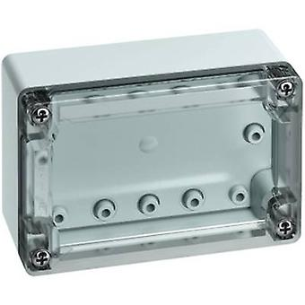 Build-in casing 122 x 82 x 55 Polycarbonate (PC) Light grey (RAL 7035)