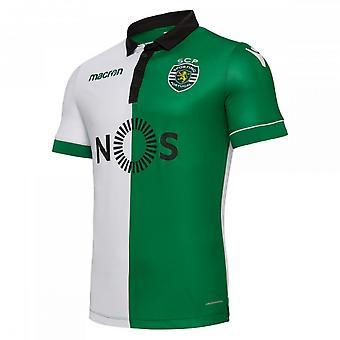 2018-2019 Sporting Lisbon Authentic Stromp Match Shirt