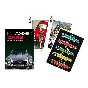 Classic Cars Set Of Playing Cards