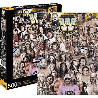 Wwe Legends 500 Piece Jigsaw Puzzle 350Mm X 480Mm