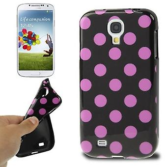 Protective case TPU case for mobile Samsung Galaxy S4 GT I9500 points / GT-I9505 / LTE + GT-I9506 / value Edition GT-I9515