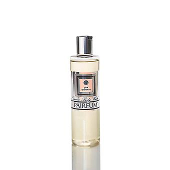 Organic Body Wash & Shower Oil ( 2in1 is Best ) - Unisex - by Pairfum - Perfume: Pink Grapefruit - 250ml - Gently Cleanse and Moisturise Your Skin while you Shower - Rich in Organic / Natural Essential Oils - Ideal for dry or sensitive skin