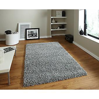 Vista - Plain 2236 grå grå rektangel tæpper almindelig/næsten almindelig tæpper