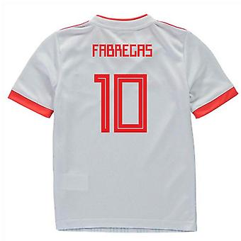 2018-2019 Spagna Away Adidas Mini Kit (Fabregas 10)