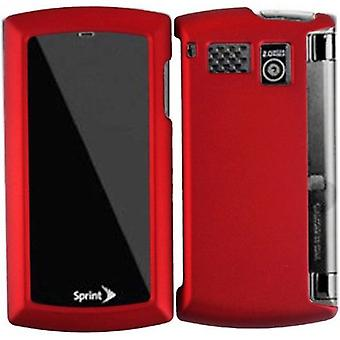 Sprint -  Hard Snap-On Case for Sanyo Incognito 6760 - Red