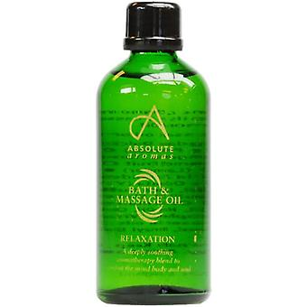 Absolute Aromen, Detox-Bad und Massage-Öl, 100ml