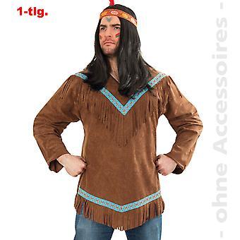 Costume indiano mens uomo indiano Apache Winnetou mens costume