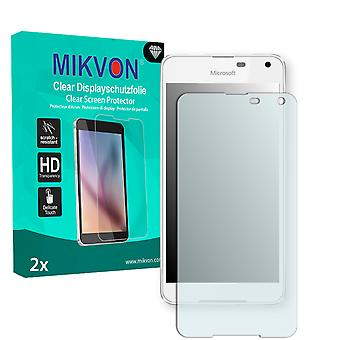 Microsoft Lumia 650 Dual SIM Screen Protector - Mikvon Clear (Retail Package with accessories)