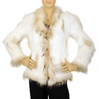 Waooh - de piel - chaqueta camisas de manga largas en conejo y mapache