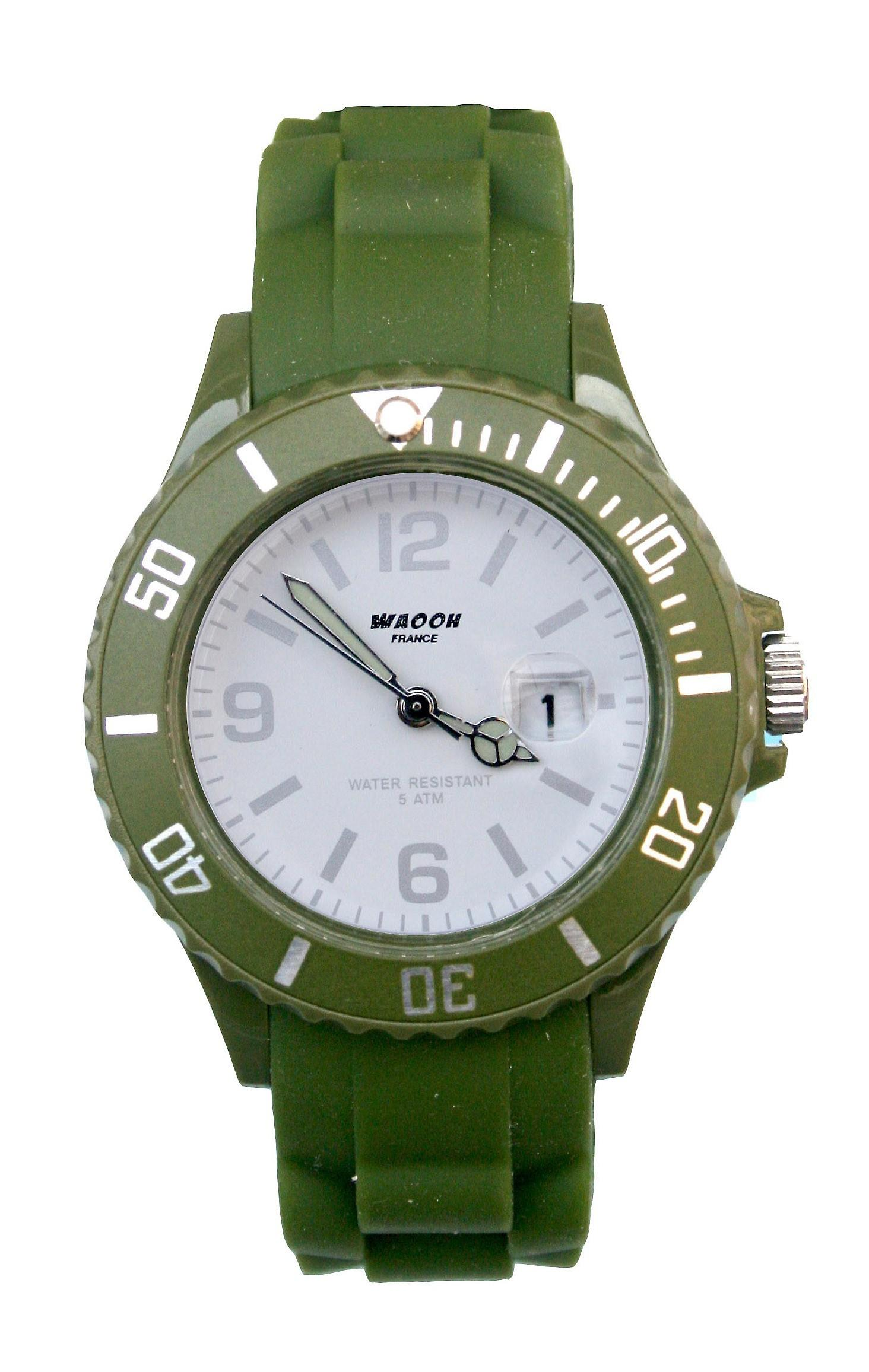 Waooh - orologi - orologio Waooh ghiaccio Monaco 38 braccialetto colore