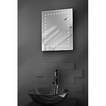 K163 Léon rasoir LED salle de bain miroir avec désembuage Pad & capteur