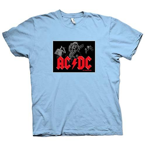 Mens T-shirt - AC/DC - Let There Be Rock - Band