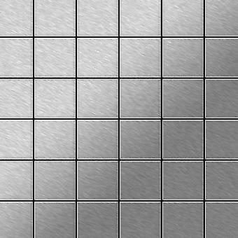 Metal mosaic Stainless Steel ALLOY Cinquanta-S-S-B