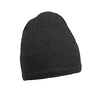 Myrtle Beach Adults Unisex Knitted Beanie With Fleece Inset