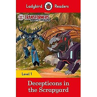 Transformers: Decepticons in�the Scrapyard- Ladybird�Readers Level 1