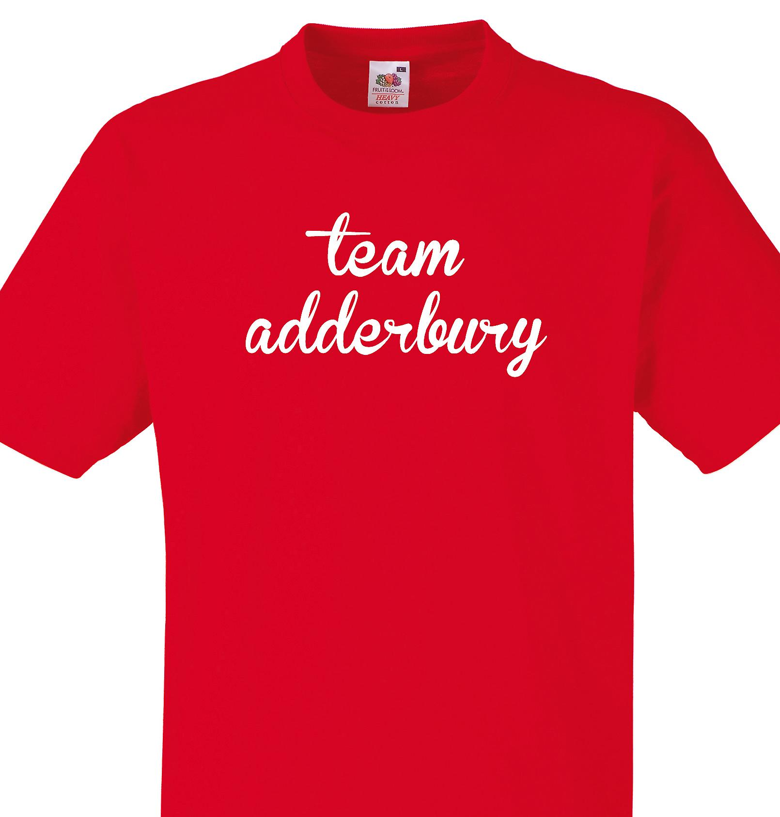Team Adderbury Red T shirt