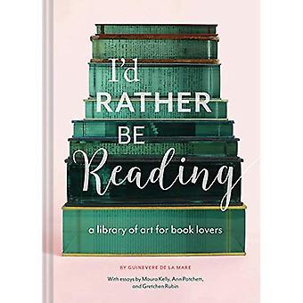 Je voudrais plutôt être la lecture