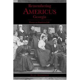 Ricordando Americus, Georgia: Saggi sulla vita del sud