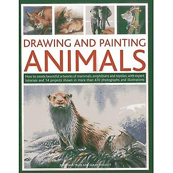 Drawing and Painting Animals: How to Create Beautiful Artworks of Mammals, Amphibians and Reptiles, with Expert Tutorials and 14 Projects Shown in ... and Illustrations (Drawing & Painting)