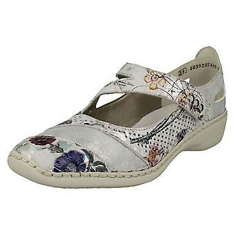 Ladies Rieker Casual Flat Shoes 41346