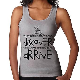 When We Arrive Calvin And Hobbes Quote Women's Vest