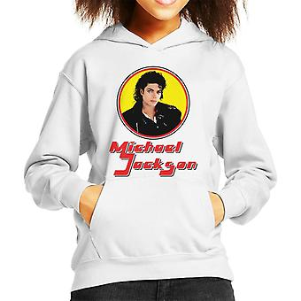 Michael Jackson 70s Retro Frame Kid's Hooded Sweatshirt