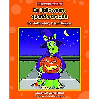 Es Halloween, Querido Dragon / c'est l'Halloween, mon cher Dragon (Dragon cher espagnol/anglais (début à lire))