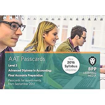AAT Final Accounts Preparation: Passcards