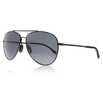 Hugo Boss 0938/S 2P6 Black Rubber 0938/S Pilot Sunglasses Lens Category 3 Size 59mm