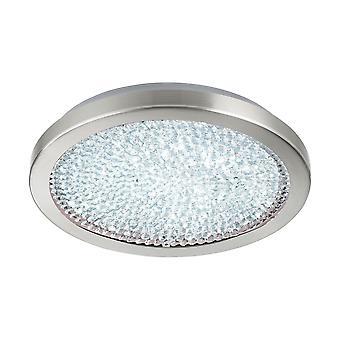 Eglo - Arezzo 2 LED cristal Circular EG32047 de montagem de teto