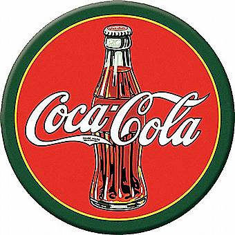 Coca Cola 1930s Bottle round fridge magnet    (de)