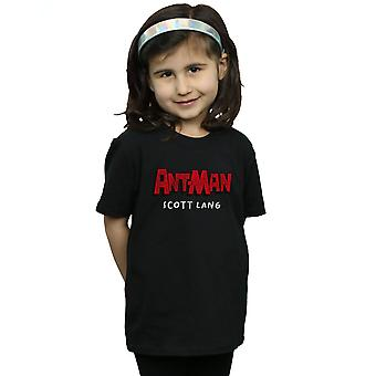 Marvel Girls Ant-Man AKA Scott Lang T-Shirt