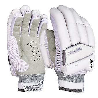 Kookaburra 2019 Ghost 5.0 Cricket Batting Gloves White/Grey
