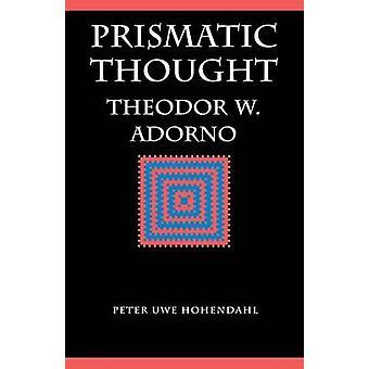 Prismático pensamento por Adorno & Theodor Wiesengrund