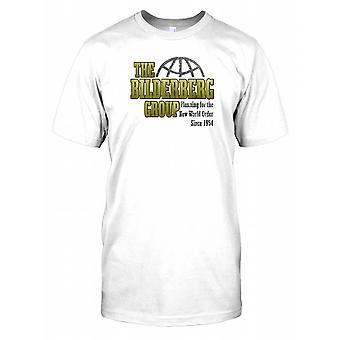 De Bilderberg groep - plannen voor de wereldorde sinds 1954 Mens T Shirt