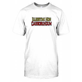 Illegitimi niet Carborundum - niet Let The Bastards Grind u neer Mens T Shirt