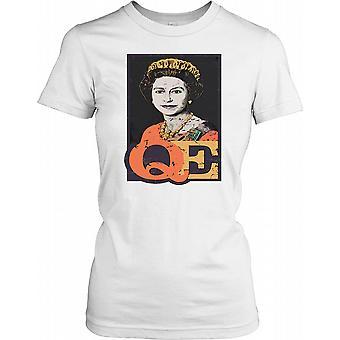 Queen Elizabeth II Younger Ladies T Shirt