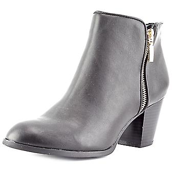 Style & Co. Womens Jamila Leather Almond Toe Ankle Fashion Boots