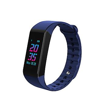 Aktywność W6S bransoletka OLED kolor wyświetlacza niebieski