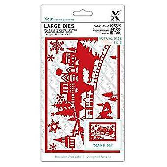 Xcut Large Dies Festive Delivery (2pcs) (XCU 503963)