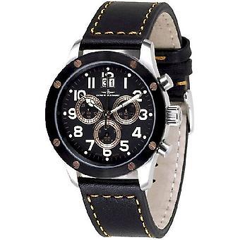 Zeno-Watch Herrenuhr Screws 5040 Chronograph 9540Q-SBR-b1