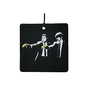 Banksy Pulp Fiction bananer bil Air Freshener