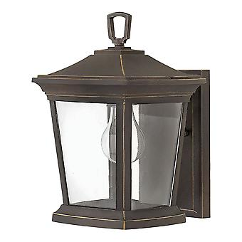 Elstead - 1 Light Small Wall Lantern - Oil Rubbed Bronze Finish - HK/BROMLEY2/S