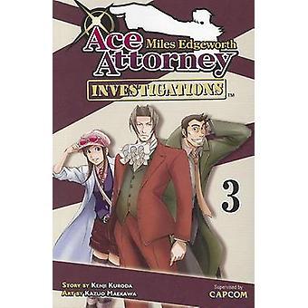 Miles Edgeworth - Ace Attorney Investigations - Volume 3 by Kenji Kuro