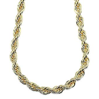 18K Gold Plated Run DMC Hip Hop Rope Chain, Dookie Chain 10mm x 30 Inches