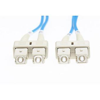Blue Sc-Sc Om1 Multimode Fibre Optic Cable