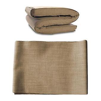 Baumwollrutschkabel für kleine Doppel-Futon-Matratze-Stein